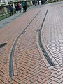 Former tram tracks near Chamberlain Square (4356597363).jpg