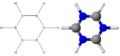 Formula di struttura e modella tridimensionale della borazina.png