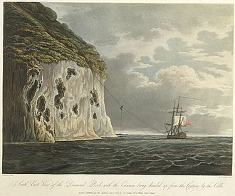 Battle of Diamond Rock - Image: Fort Diamond cannon