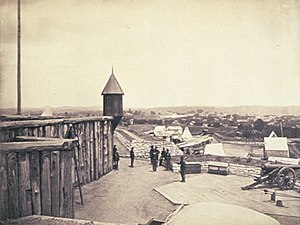Fort Negley - Fort Negley in 1864