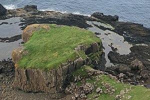 Canna, Scotland - Dun Channa