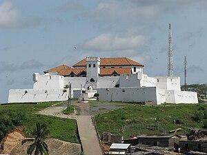 Fort Coenraadsburg - Image: Fort st jago elmina ghana