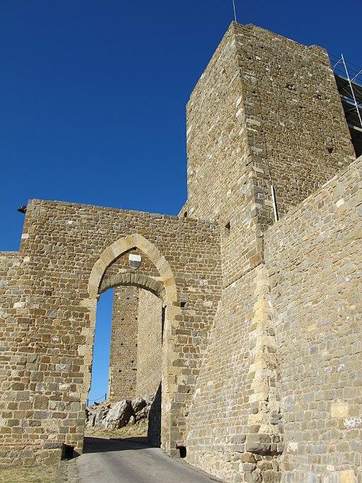 Fortezza di Montalcino, La Porta Cassero