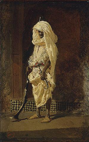 Ramón Altarriba y Villanueva - Moroccan soldier 1860