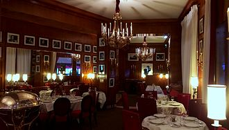 Fouquet's - The Fouquet's right side room