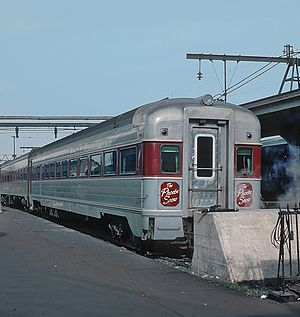 Erie Lackawanna Railway - The Phoebe Snow at Hoboken Terminal in September 1965