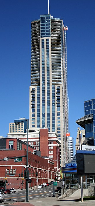 Four Seasons Hotel Denver - Nearing completion in late 2009.