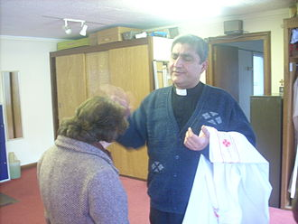British Assyrians - Fr Habib, the Chaldean Catholic Priest in London