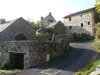 Fraissinet-de-Lozère Part of Pont-de-Montvert-Sud-Mont-Lozère in Occitanie, France