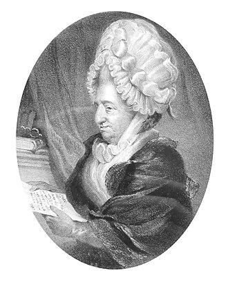 Frances Boscawen - Frances Evelyn Boscawen née Glanville (23 Jul 1719 – 26 Feb 1805)