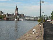 Frankfurt Kaiserdom EisernerSteg