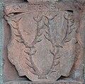 Frankfurt Katharinenkirche Epitaph Heinrich Volrat von Stolberg-Königstein Ahnenprobe rechts 14 Guttens.jpg