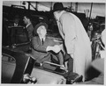 Franklin D. Roosevelt and Governor Julius Heil in Milwaukee, Wisconsin - NARA - 196051.tif