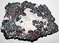 Franklinite-zincite-calcite rock (Franklin Marble, Mesoproterozoic, 1.03-1.08 Ga; Franklin, northern New Jersey, USA) 2.jpg