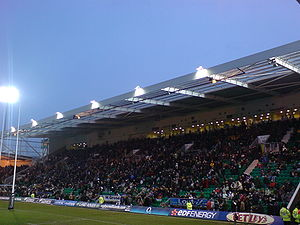 Franklin's Gardens - The Elite Insurance Stand (formerly The Burrda Stand)
