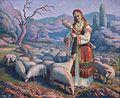 František Čermák - Přadlena s ovcemi na pastvě.jpg
