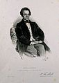 Franz Schuh. Lithograph by E. Kaiser, 1850. Wellcome V0005332.jpg