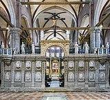 Frari (Venice) - Coro dei Frati - Marble entrance.jpg