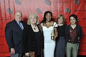Majora Carter - Image: Fred Young, Marge Ostroushko, Majora Carter, Mary Beth Kircher, and Emily Botein, 2011
