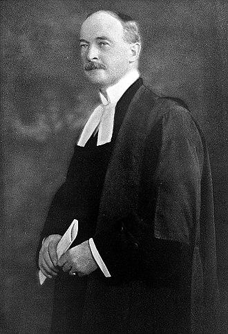 F. B. Fetherstonhaugh - F.B. Fetherstonhaugh, c. 1923