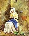 Frederick Smallfield - Good Housewife - M1885-1-28 - Auckland Art Gallery.jpg