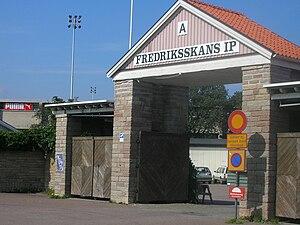 Fredriksskans - Entrance to Fredriksskans