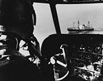 Freighter off Vietnam, seen from cockpit of SP-5B Marlin of VP-40 in June 1965.jpg