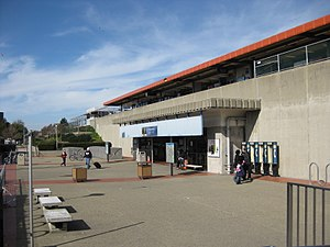 Fremont station (BART) - Entrance to Fremont station in 2010