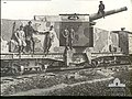 French 190 mm gun on armored train 1917 AWM H04529.jpeg