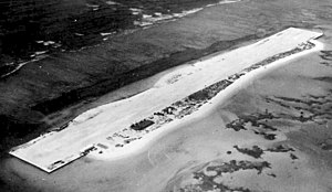 French Frigate Shoals Airport - French Frigate Shoals Airfield, 1961. Note resemblance to an aircraft carrier.