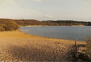Frensham - Image: Frensham Great Pond geograph.org.uk 276897
