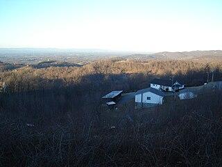 Pores Knob mountain in North Carolina, United States of America
