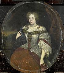 Portrait of Frouck, Barones van Aylva, Wife of Hans Willem van Aylva after 1658