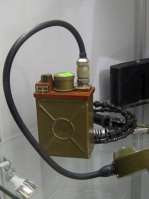 Military communications - Soviet platoon radio set R-147