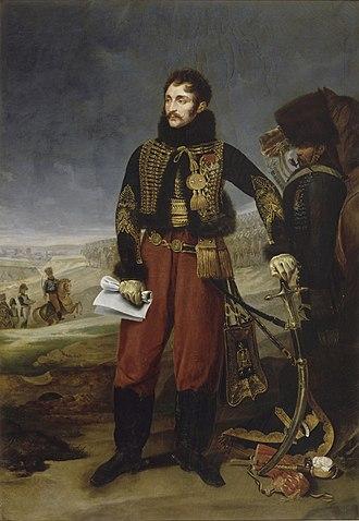 Antoine Charles Louis de Lasalle - Lasalle, by Antoine-Jean Gros (1808)