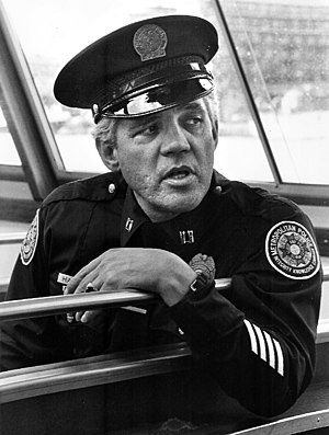 "G. W. Bailey - Bailey as ""Captain Harris"" in Police Academy"