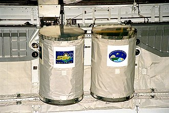 Getaway Special - Two Getaway Special (GAS) canisters, used on STS-91
