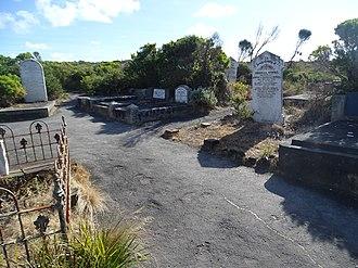 Loch Ard Gorge - Cemetery for the Loch Ard passengers
