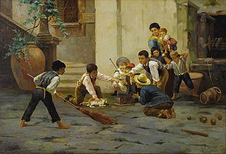 Gaetano Capone - Caught at Last (1897) by Capone.