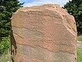 Gaidhlig inscription on standing stone at Knockbain - geograph.org.uk - 207551.jpg