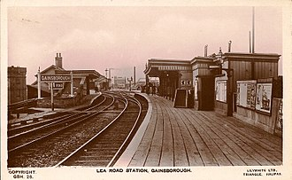 Great Northern and Great Eastern Joint Railway - Gainsborough Lea Road railway station