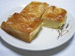 Galaktoboureko - Wikipedia, the free encyclopedia