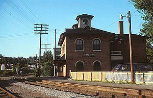 Galena station, June 1978.jpg