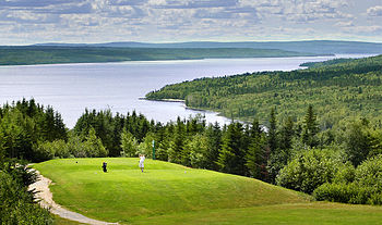 English: Gander golf club, Gander, Newfounland
