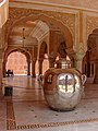 Gangajalis - The biggest silver man made objects of the world Rajasthan India.jpg