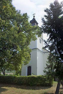 Garáb village- Nógrád County- Hungary - Church.jpg