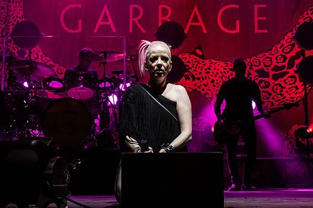 Garbage on the 2016 tour. Garbage 2016.jpg