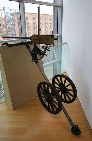 Gardner gun - An 1887 Gardner machine gun