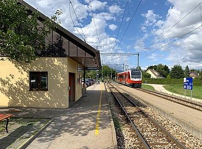 Come arrivare a Gare de Trelex con i mezzi pubblici - Informazioni sul luogo