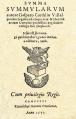 Gaspar Cardillo de Villalpando (1571) Summa Summularum.png